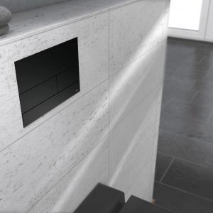 TECEsquare II – przycisk spłukujący w kolorze czarny mat / TECE
