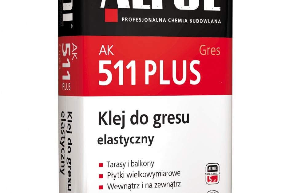 Klej do gresu elastyczny ALPOL AK 511 PLUS / Piotrowice II