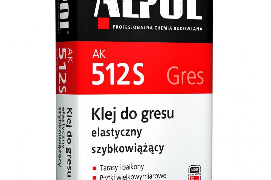 Klej do gresu elastyczny szybkowiążący ALPOL AK 512S / Piotrowice II