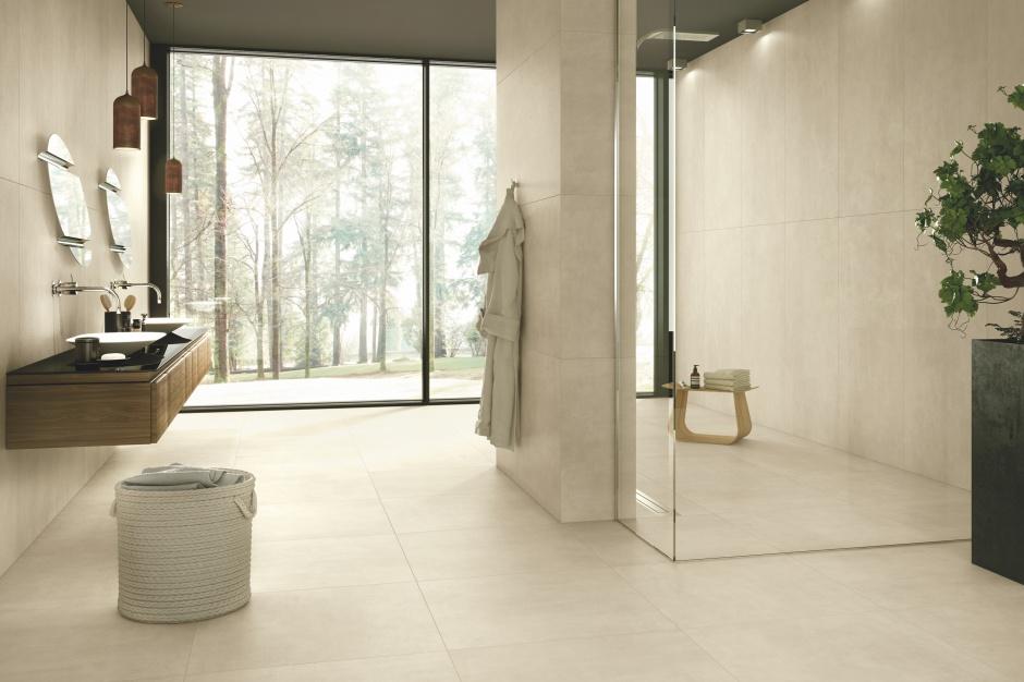 Płytki ceramiczne: nowa kolekcja jak beton w różnych kolorach