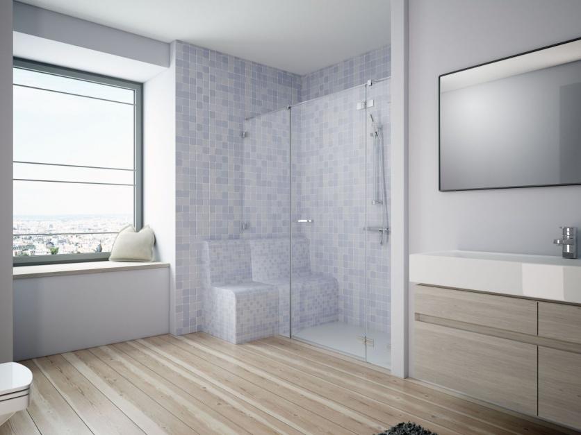 Kabina na wymiar - idealna do nietypowych łazienek