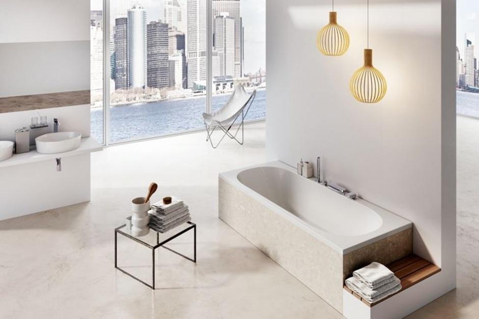Nowoczesna wanna: nowy model w miejskim stylu