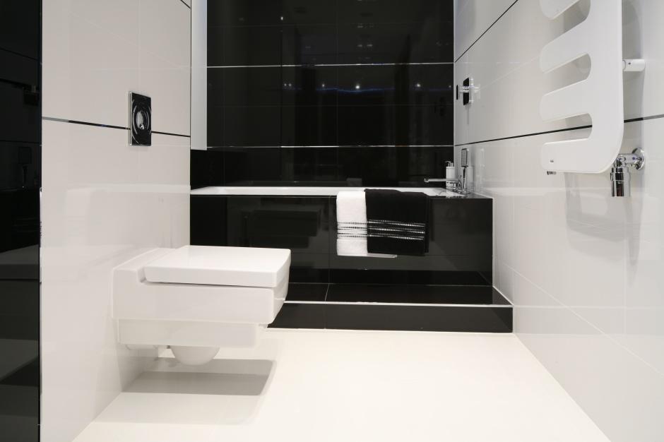 Inspirujemy Czarno Biała łazienka Zobacz Trzy Gotowe