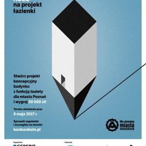 Poznań wybuduje toaletę wg zwycięskiego projektu konkursu KOŁO