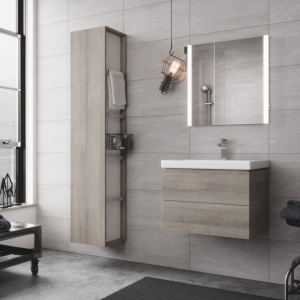Meble łazienkowe: 10 podwieszanych kolekcji