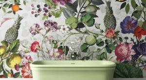 Ściana w łazience: nowa kolekcja luksusowej marki