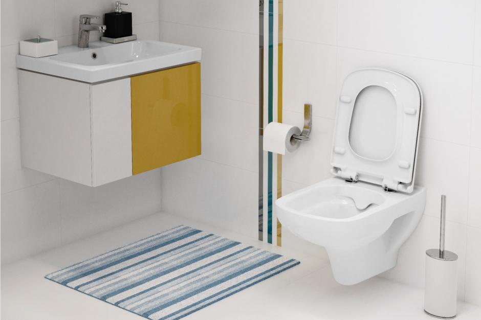 Higiena w łazience: postaw na bezkołnierzową miskę