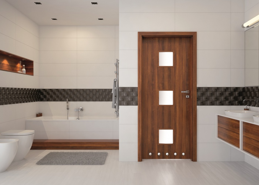 Drzwi do łazienki: nowy model w nowoczesnym stylu