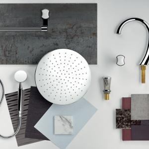Porcelanowy detal w łazience: designerska kolekcja luksusowej armatury i akcesoriów