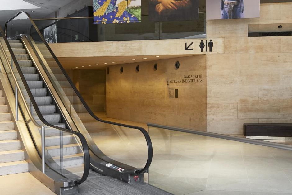 Toalety w Luwrze: wyposażenie dla 10 mln. zwiedzających