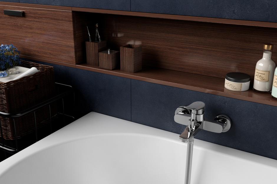 Baterie łazienkowe: uniwersalna propozycja do umywalek i wanien