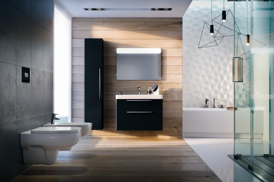 Ciemne meble łazienkowe: 10 eleganckich kolekcji