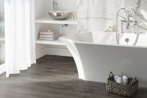 Podłoga w łazience: wybierz luksusowe płytki winylowe [nowość]