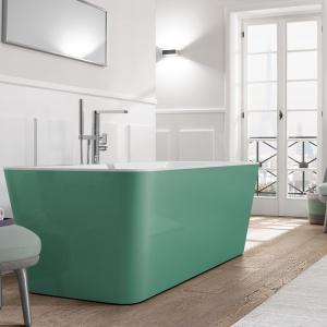 Wiosna w łazience: odważ się na mocny kolor