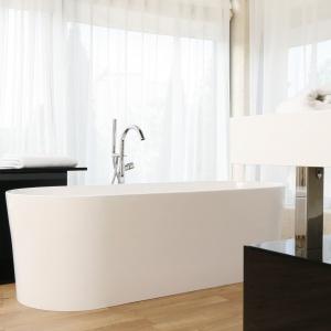 Łazienka z wolno stojącą wanną: tak urządzisz salon kąpielowy