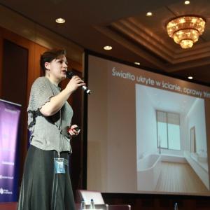 Trendy w oświetleniu łazienkowym - prelekcja Katarzyny Tworek