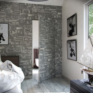 Drzwi do łazienki: postaw na skrzydło zlicowane ze ścianą