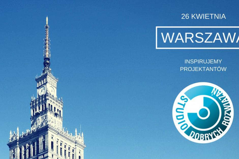 Studio Dobrych Rozwiązań po raz 5-ty w Warszawie!