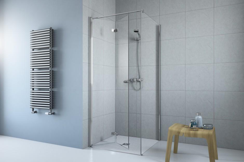 Prysznic w małej łazience: wybierz kabinę ze składanymi drzwiami