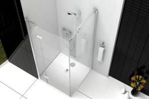 Strefa prysznica w małej łazience: tak ją wyposażysz