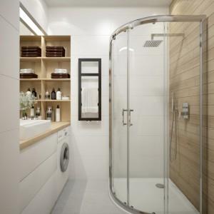 Sposób na małą łazienkę w bloku