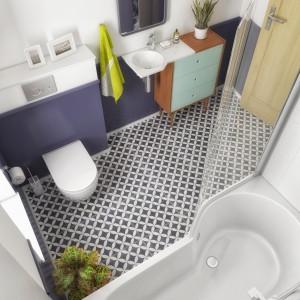 """Mała łazienka: te projekty wygrały konkurs """"Koncept BeSpot w małej łazience"""""""