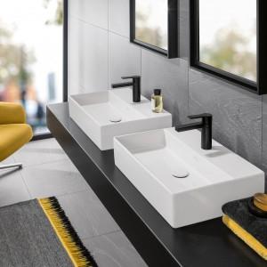 Nowoczesna strefa umywalki: ceramika sanitarna o bardzo cienkich ściankach