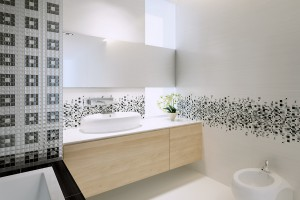 Czarno-biała łazienka: 5 kolekcji pięknych płytek
