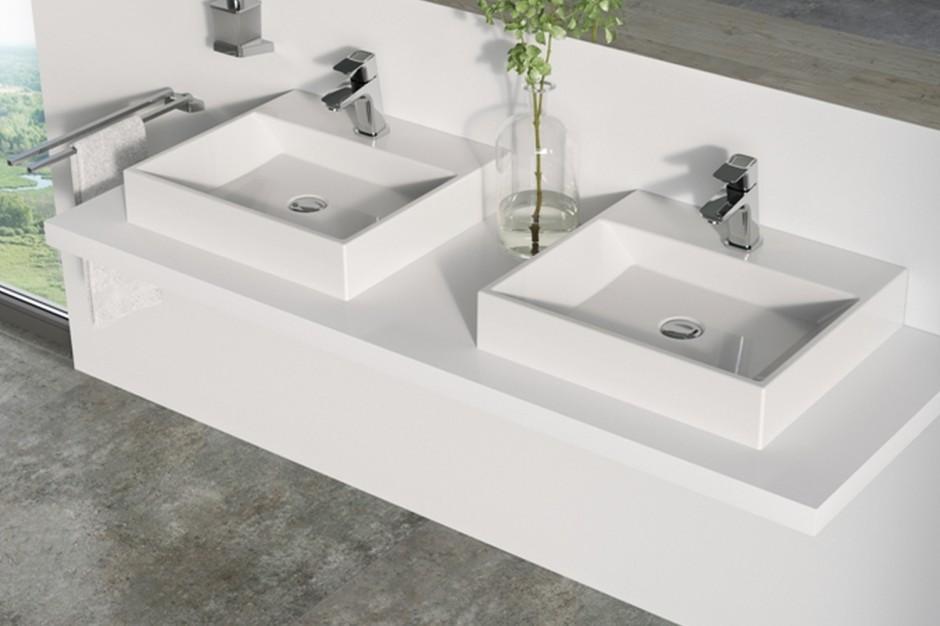 Nowoczesna strefa umywalki: nowa seria z konglomeratu