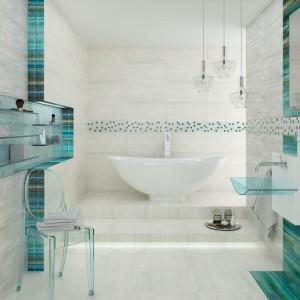 Łazienka w kolorach morza: 10 kolekcji marynistycznych płytek