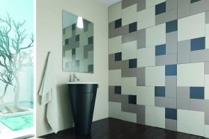 Szkło w łazience: postaw na szklane płytki Colorimo Forma