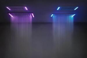 Gessi proponuje kąpiel w strugach wody i światła