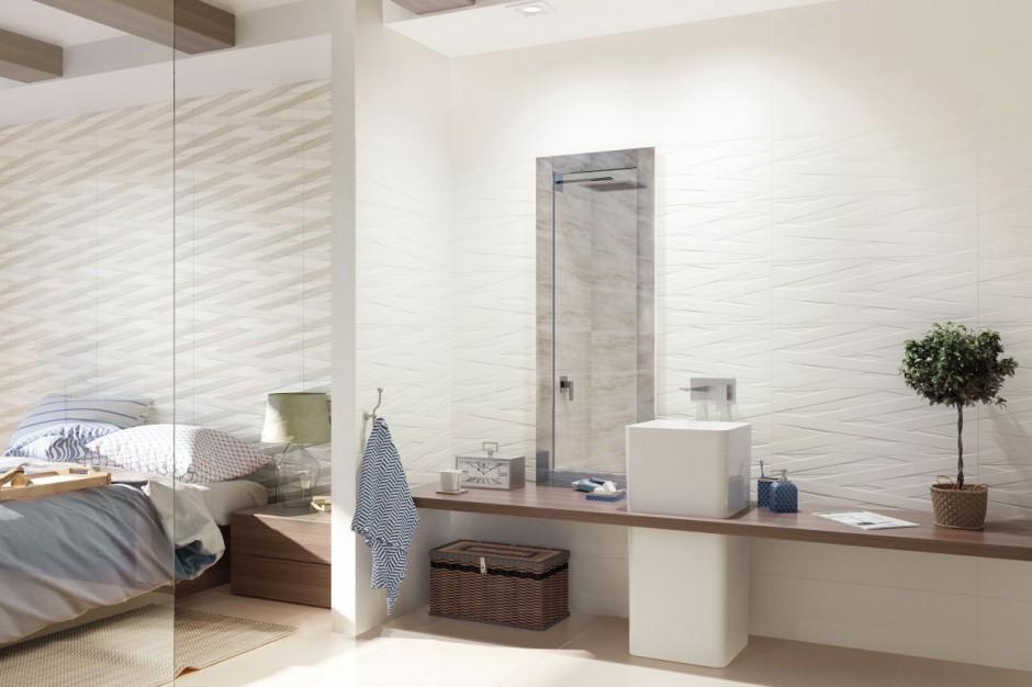 Łazienka zainspirowana naturą: nowa kolekcja płytek ceramicznych