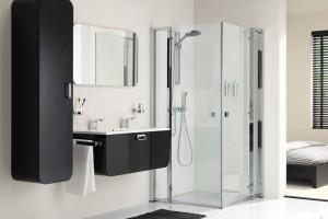 Meble łazienkowe: zobacz serie o miękkich kształtach