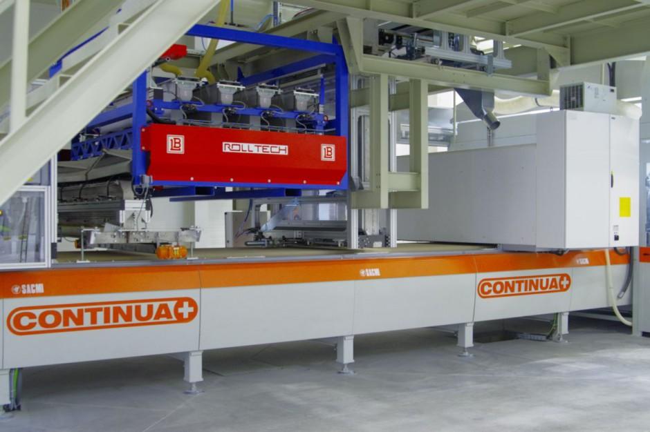 Tubądzin produkuje wielkoformatowe płyty ceramiczne