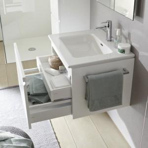 Elegancka i praktyczna - kompletna seria do łazienek