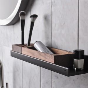 Przechowywanie w łazience: system nowoczesnych półek