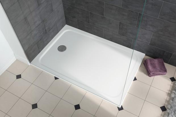 Nowoczesna strefa prysznica: łatwa w montażu powierzchnia prysznicowa