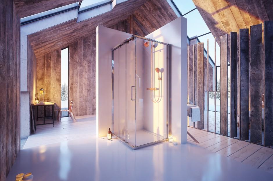 Łazienka w stylu loft: dobieramy wyposażenie