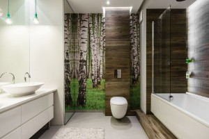 5 pomysłów na zieleń w łazience
