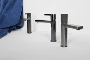 Armatura łazienkowa: baterie w eleganckich metalicznych wykończeniach