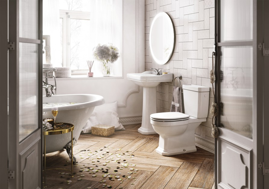Inspirujemy łazienka W Stylu Klasycznym 10 Inspirujących