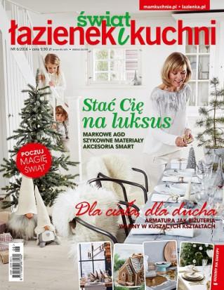 Świat Łazienek i Kuchni 6/2016