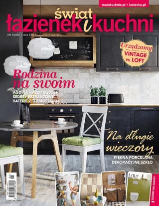 Świat Łazienek i Kuchni 5/2016
