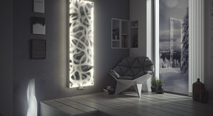 Dekoracyjne grzejniki: model z oświetleniem LED