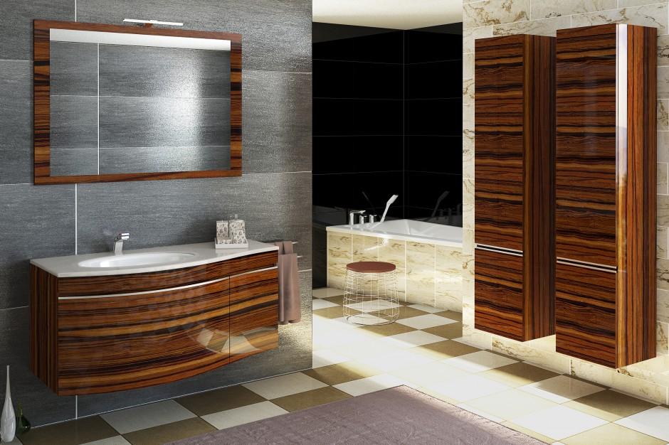 5 pomysłów na fronty mebli łazienkowych