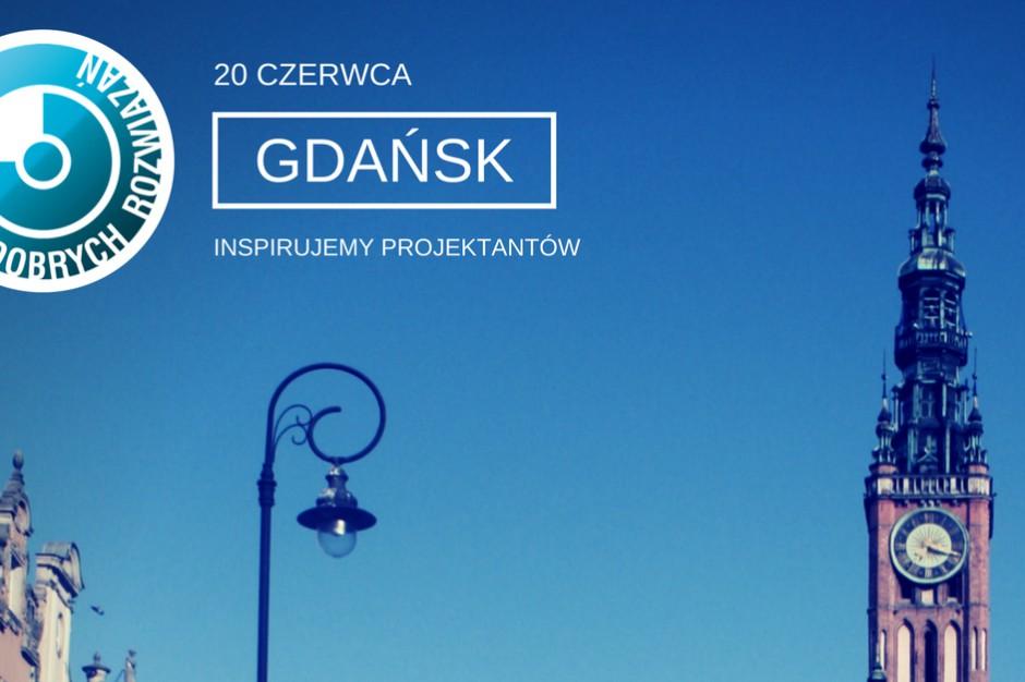 Już jutro Studio Dobrych Rozwiązań w Gdańsku!