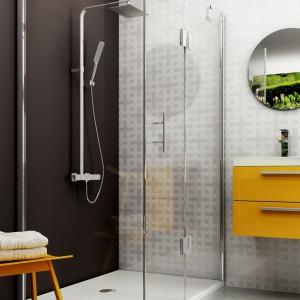 Funkcjonalna strefa prysznica: 5 zestawów armatury