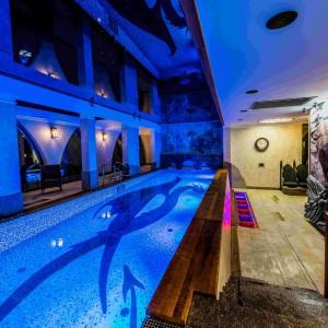 Mozaiki Dunin w hotelu pełnym nordyckich motywów