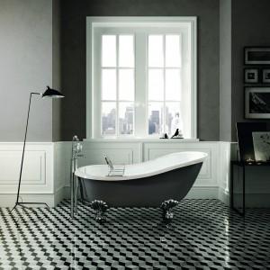 5 pomysłów na wzorzyste płytki w łazience
